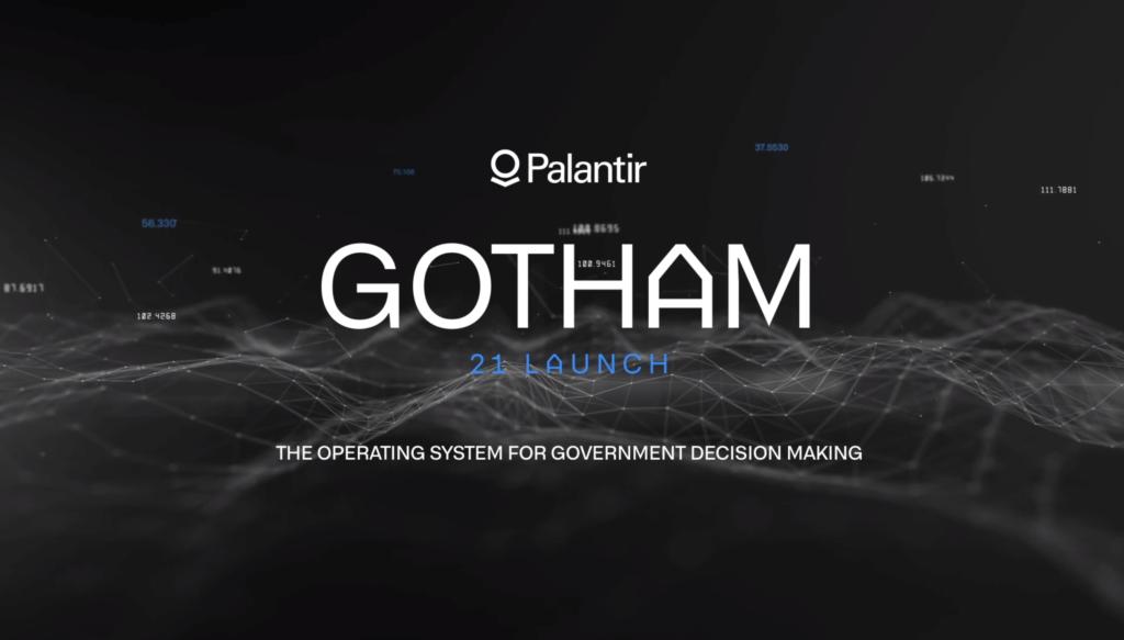 Palantir Technologies demo of their product - Gotham